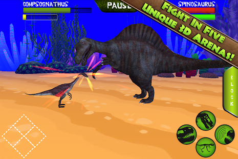 Jurassic Arena: Dinosaur Fight - screenshot