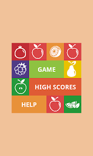 Fruits: move and collect! - screenshot