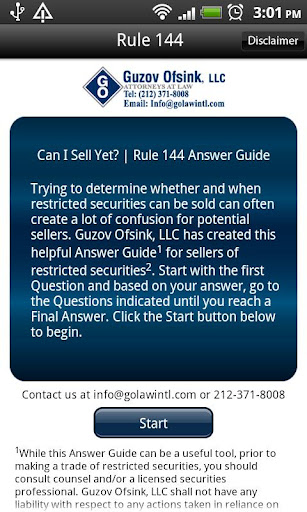 Rule 144 Answer Guide