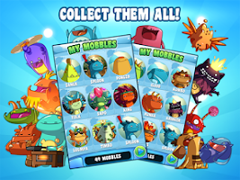 Screenshot of Mobbles - the mobile monsters!