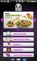 Screenshot of Taco Bell Mobile App