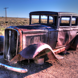 Going Nowhere by Nancy Tharp - Transportation Automobiles
