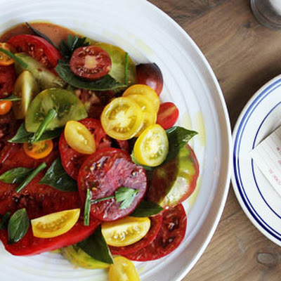 Tomato Salad with Louie Dressing