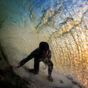 Colorful Curtain  by Dave Nilsen - Sports & Fitness Surfing