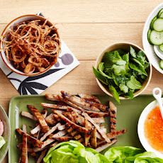 Grilled Pork Lettuce Wraps