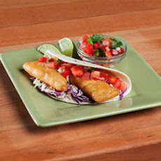 The Neelys' Fish Tacos with Easy Cabbage Slaw