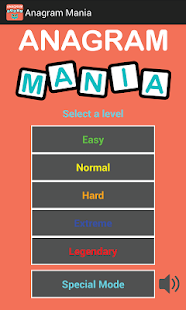 Anagram Mania - screenshot