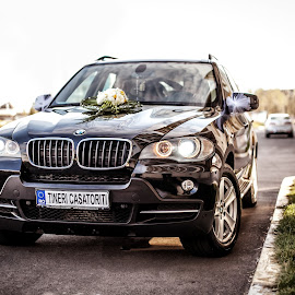Official bride's car by Nicolae Matic - Transportation Automobiles ( automobile, wedding car, off road, bmw, x5, all terrain,  )