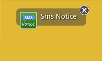 Screenshot of Sms Notice Lite