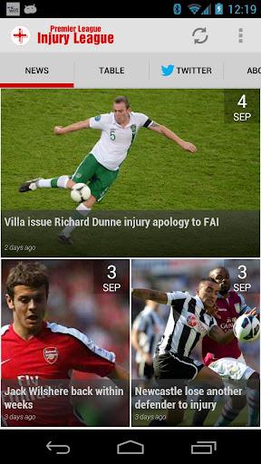 InjuryLeague.com