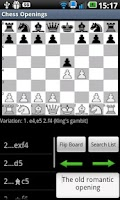 Screenshot of Chess Openings