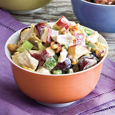 Skinny Chicken Waldorf Salad Recept | Yummly
