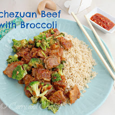 Schezuan Beef with Broccoli