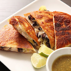 Roast Turkey and Black Bean Quesadillas
