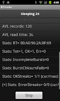 Screenshot of BTStudio test suite