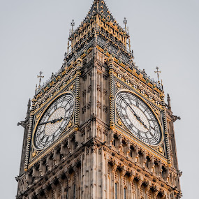 Big Ben by Joshua Malcolm  - Buildings & Architecture Public & Historical ( skyscraper, london, clock tower, westminster, big ben,  )