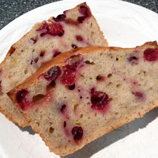 Festive Cranberry Banana Bread