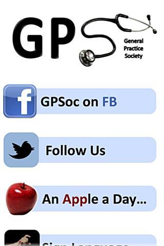 Nottingham GPSoc App