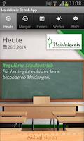 Screenshot of Heidekreis Schul-App