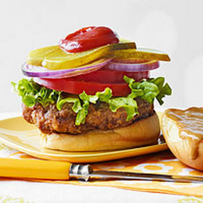 Spicy Chicken-Fried Hamburgers