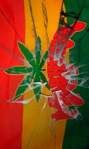 Marijuana flag live wallpaper