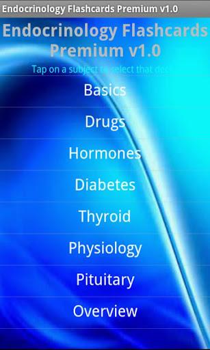 Endocrinology Flashcards Prem