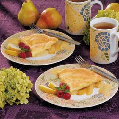 Pear Oven Omelet