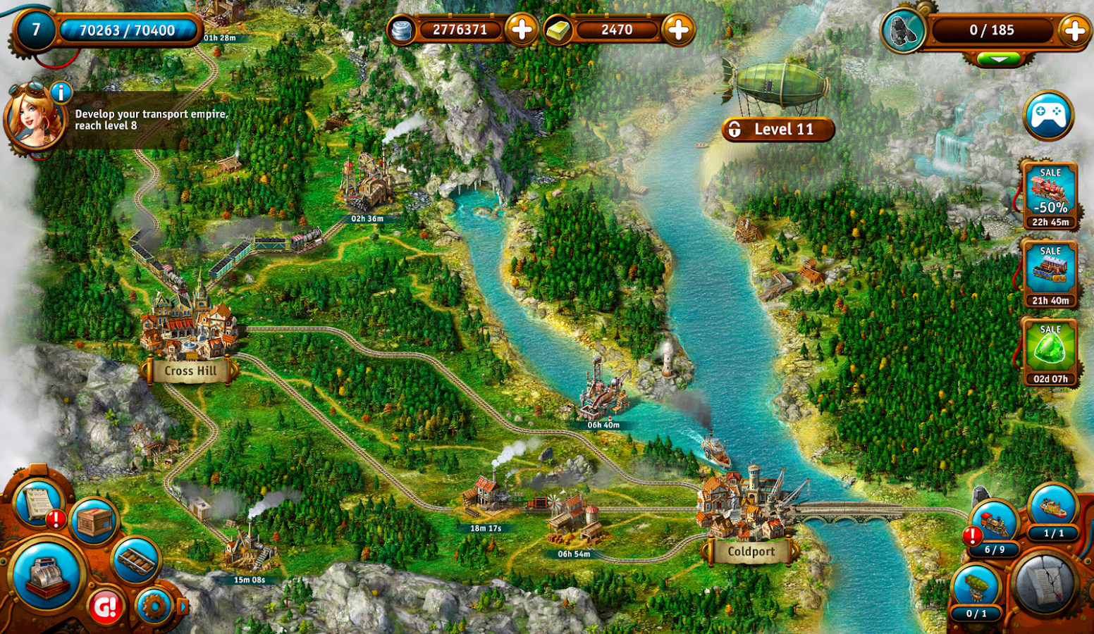 Transport Empire: Steam Tycoon Screenshot 11