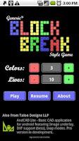 Screenshot of Block Break