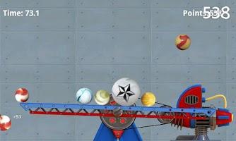 Screenshot of Falling Marbles