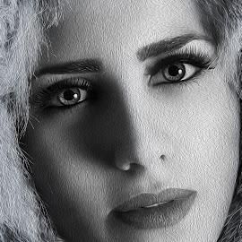 Girl portrait by Miroslav Potic - Digital Art People (  )