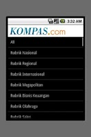 Screenshot of Kompas.com (unofficial)