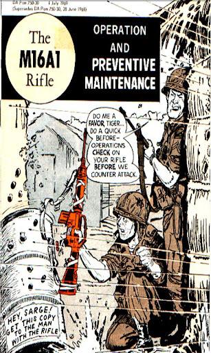 M16A1 Rifle CARTOON Manual