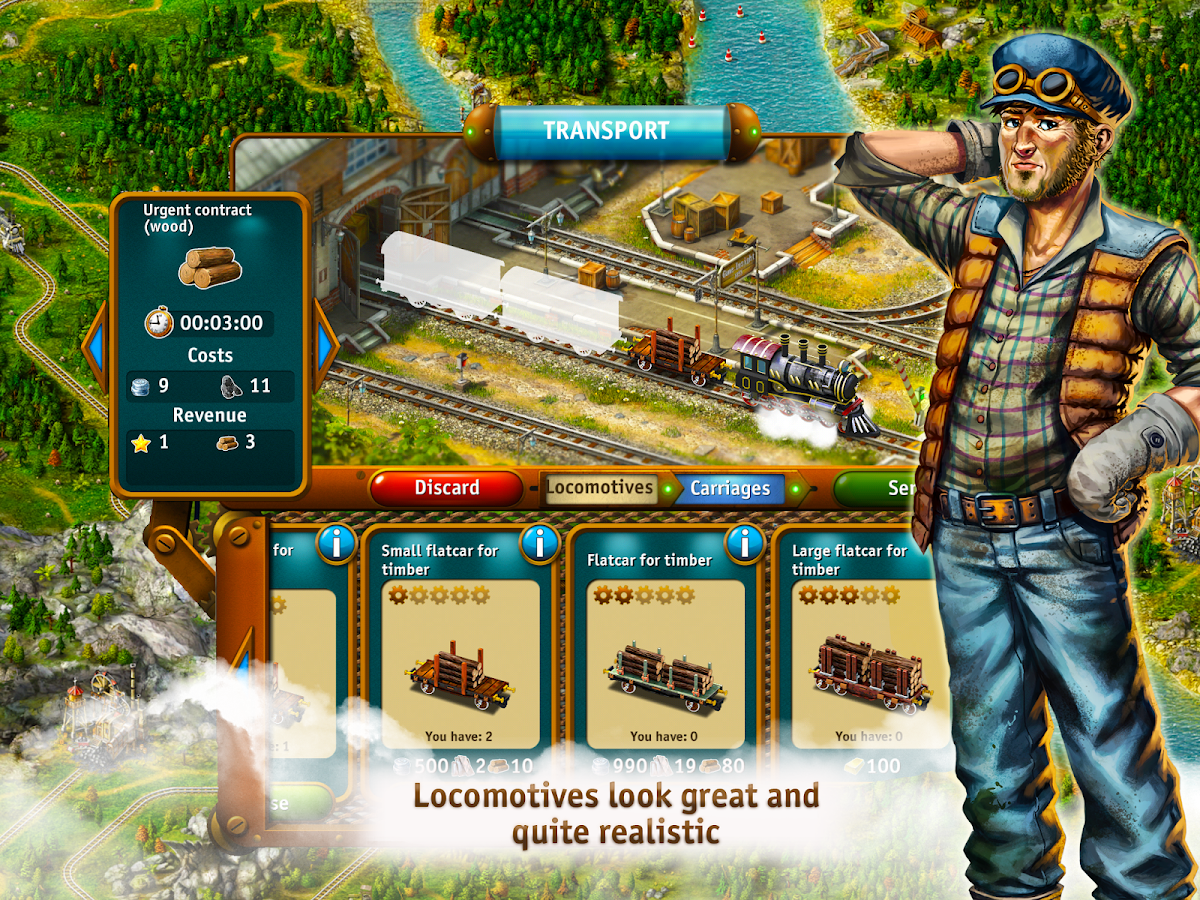 Transport Empire: Steam Tycoon Screenshot 14
