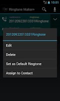 Screenshot of Ringtone Cutter