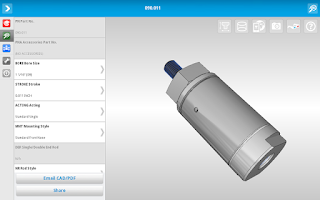 Screenshot of Bimba CAD