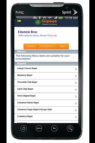 【免費健康App】Interactive Food Allergy Menus-APP點子