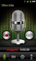 Screenshot of VRec Lite - Voice Recorder