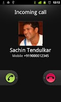 Screenshot of Fake the call pro