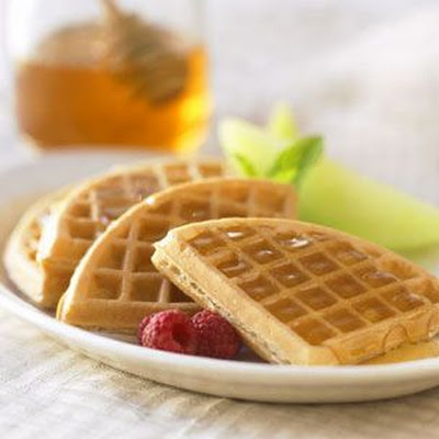 Honey-Yogurt Waffles