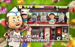 Screenshot of Chef's Diner: Food Rush