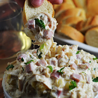 Slow-Cooker Chicken Cordon Bleu Dip