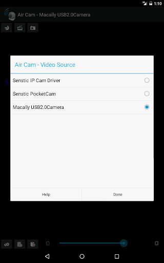 Air Cam Live Video - screenshot