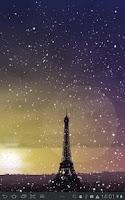 Screenshot of Winter Cities Live Wallpaper