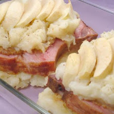 Smoked Pork Chops With Potatoes & Sauerkraut