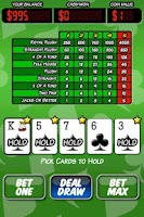 Screenshot of Ace Roller Video Poker