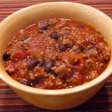 Black Bean- Turkey Sausage Chili