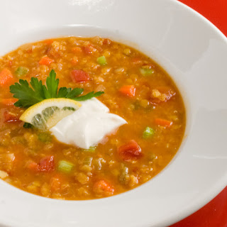 Curried Red Lentil Tomato Soup Recipes