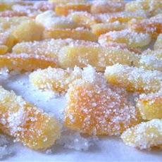 Sweet Candied Orange and Lemon Peel