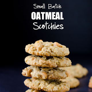 Small Batch Oatmeal Scotchies